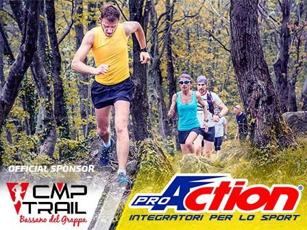TRAIL RUNNING: PROACTION SPONSOR UFFICIALE DELLA CMP TRAIL RUNNING BASSANO DEL GRAPPA