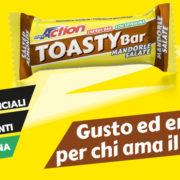 TOASTY BAR : BARRETTA ENERGETICA SALATA DI PROACTION