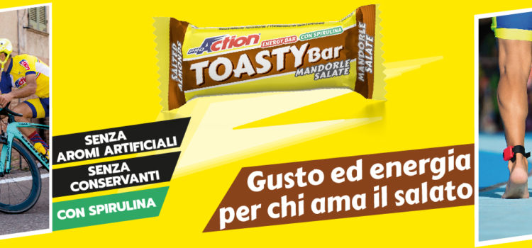 TOASTY BAR : BARRETTA ENERGETICA SALATA DI PROACTION