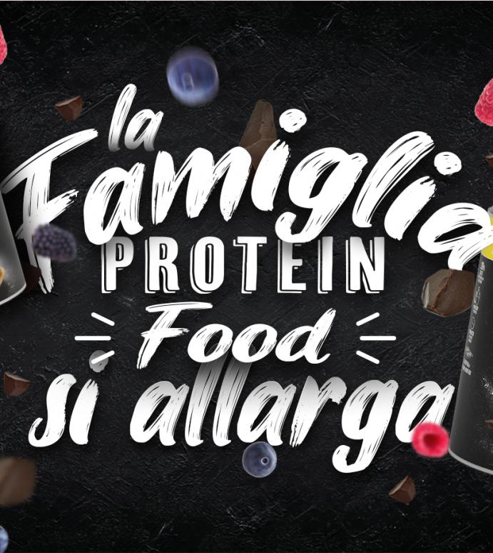 LA FAMIGLIA PROTEIN FOOD SI ALLARGA: NASCONO PROTEIN MUFFIN E PROTEIN PANCAKE
